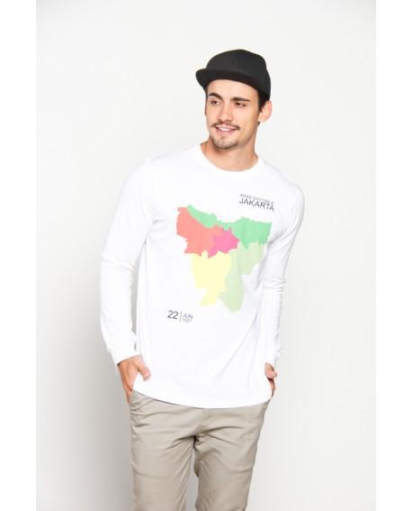 Peta Jakarta White LS